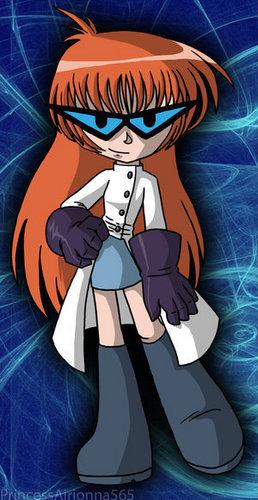 Deka....female version of Dexter >_< eww