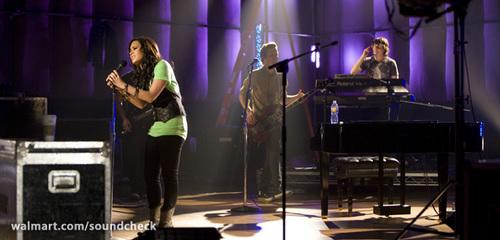 Demi Lovato on Soundcheck