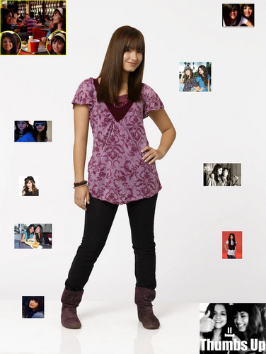 selena gomez dan demi lovato wallpaper probably with a hip boot and a legging called Demi and Selena oleh Lil_beauty