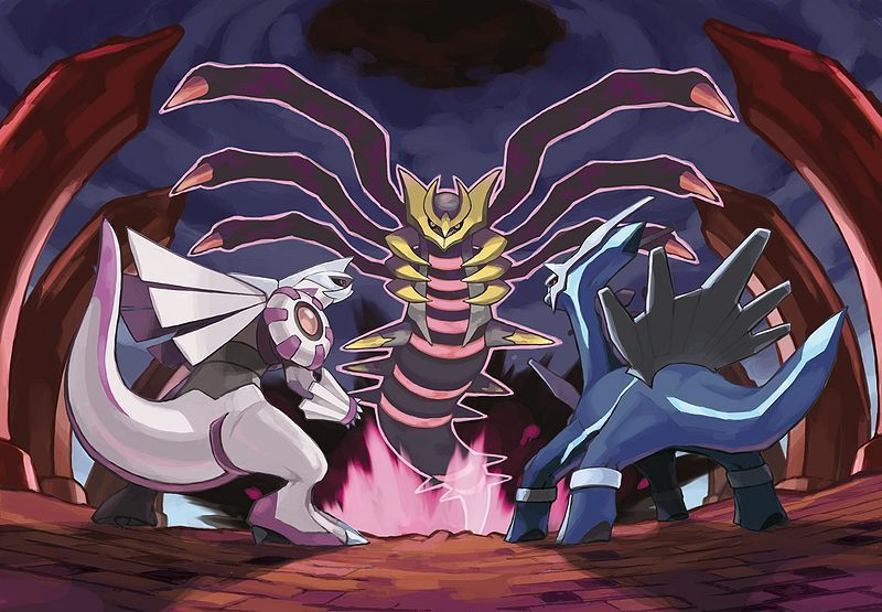 Dialg, Palkia & Giratina - Legendary Pokemon Photo ...