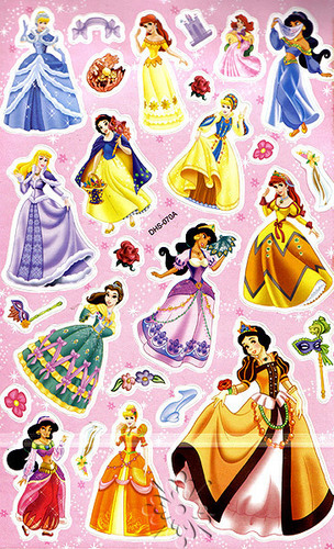 Disney Princesses Stickers
