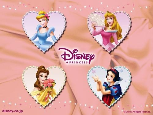 디즈니 Princesses