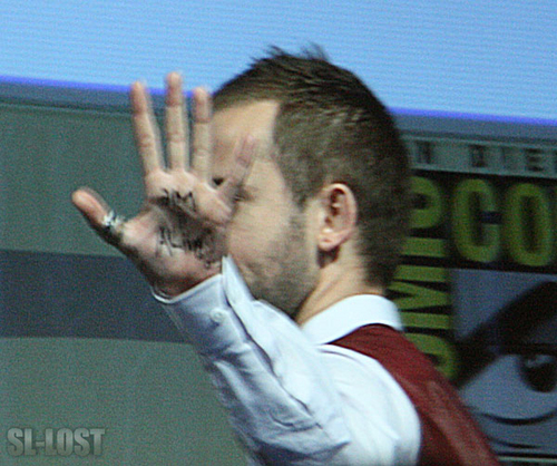 Dominic Monaghan at Comic Con