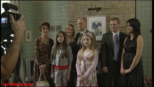 Dot, Lauren, Tanya, Max, Abi, Bradley and Stacey Branning