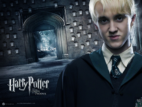 Draco Malfoy wallpaper containing a business suit titled Draco Malfoy