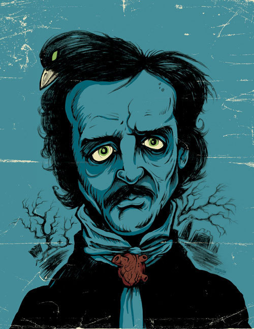 Edgar Allen Poe Artwork