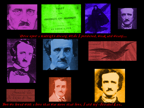 Edgar Allen Poe Portrait wallpaper