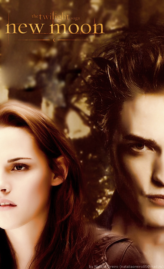 Edward & Bella New Moon Posters