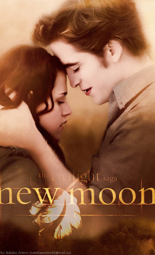 Edward & Bella New Moon Posters