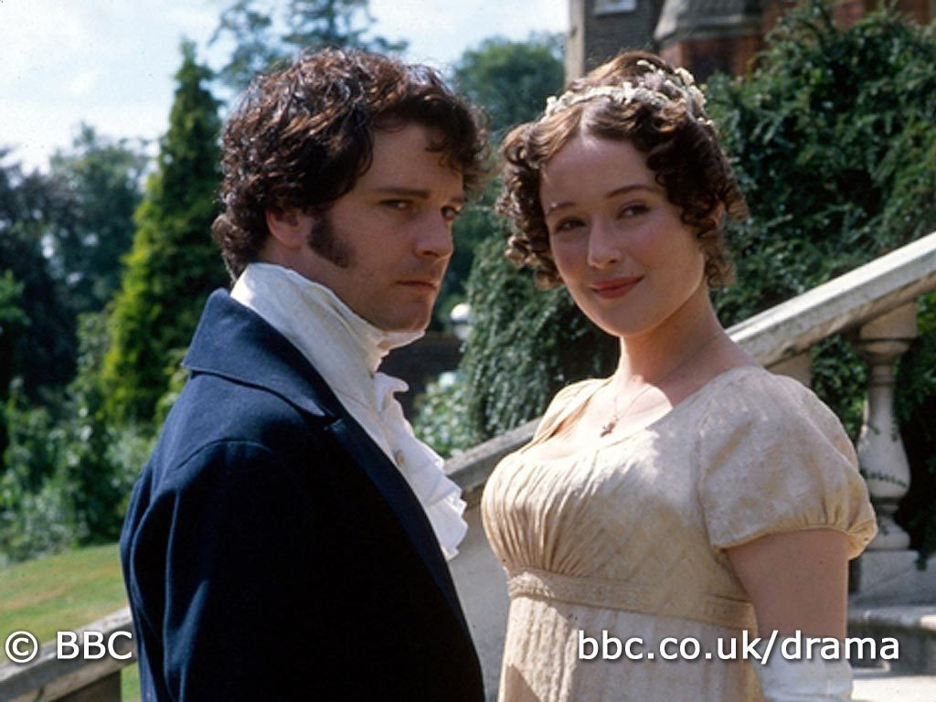 image mr darcy and elizabeth bennet pride and prejudice BBC