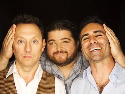 Emerson, Garcia & Carbonell Portrait from Comic-Con