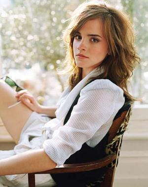 hermione granger wallpaper possibly containing a portrait and skin entitled Emma Watson <3