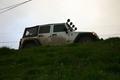 Emmett's White Jeep Wrangle Unlimited Rubicon