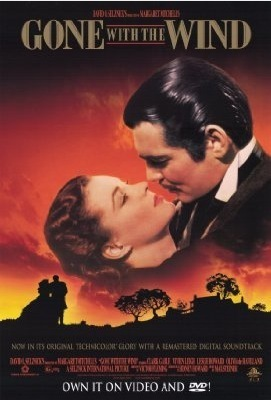 Gone with the Wind wallpaper containing anime and a newspaper entitled English/American Film Posters