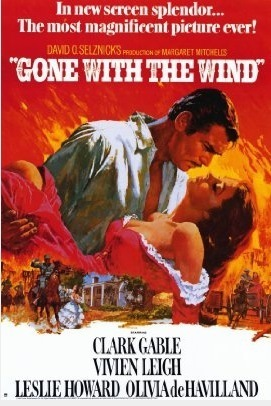 Gone with the Wind wallpaper with anime called English/American Film Posters