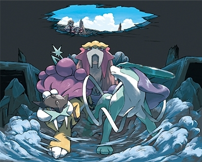 http://images2.fanpop.com/images/photos/7300000/Entei-Raikou-Suicune-legendary-pokemon-7313194-410-330.jpg