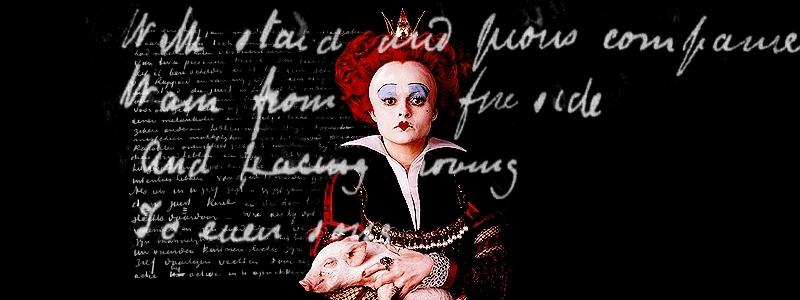 Fan Banners - alice-in-wonderland-2010 fan art