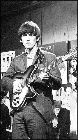 George Harrison and is Rickenbacker 12 string