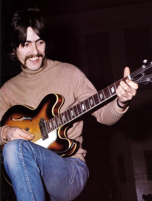 The beatles yesterday guitar