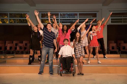 Glee : Set Visit