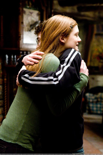 Harry&Ginny in HBP