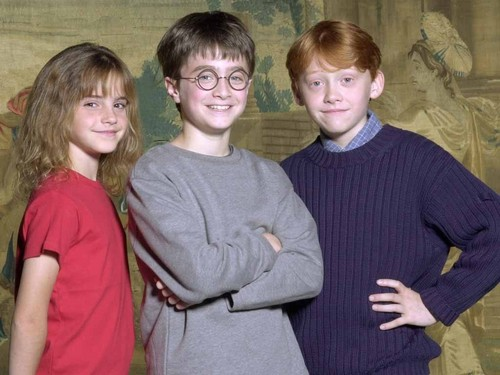 Harry Ron Hermione Young Age