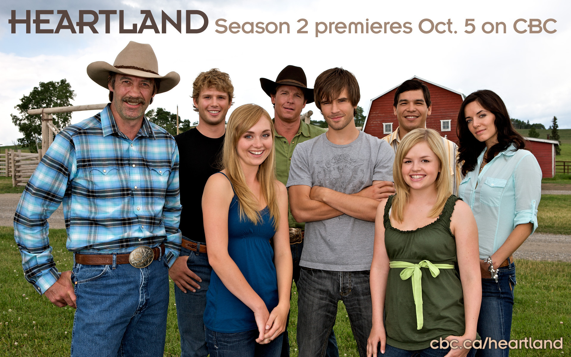 Heartland Season Two Cast - Amy and Ty Wallpaper (7386585) - Fanpop