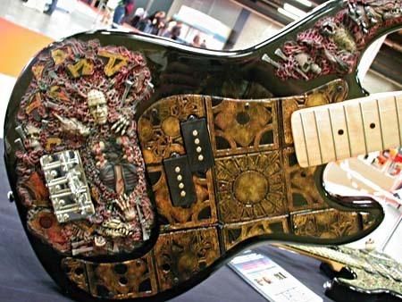 Hellraiser Fanart guitare