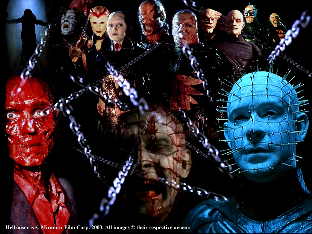 Horror movies hellraiser fansrt wallpaper