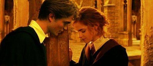 Hermione and Cedric