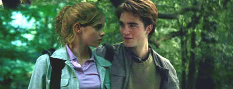 Hermione and Cedric