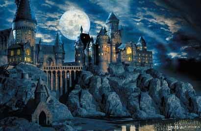 harry potter castle wallpaper