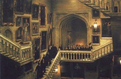 Hogwarts गढ़, महल