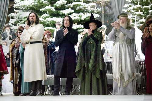 Hogwarts Professors wallpaper entitled Hogwarts GOF
