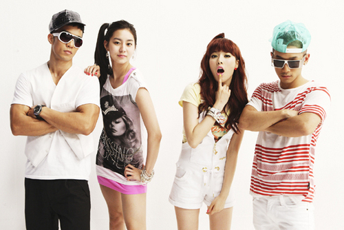 Hyunah w/ UEE & Mighty Mouth
