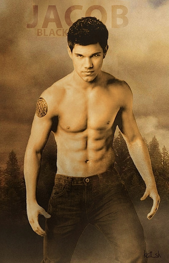 Jacob Black (Wolf Pack) - Taylor Lautner Fan Art (7301790) - Fanpop