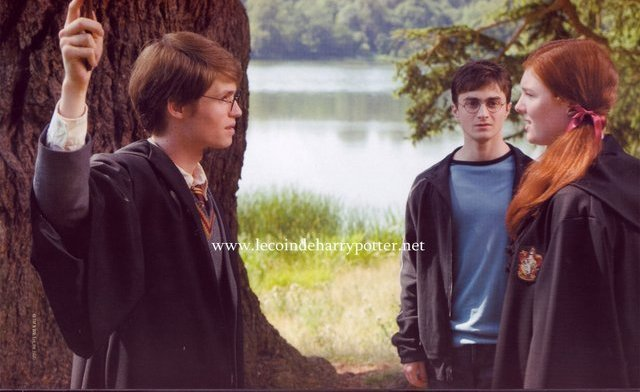James and Lily - Lily and James Potter Photo (7396590 ...Young James Potter Scene