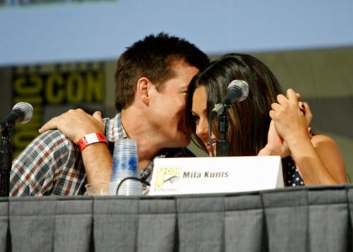 Jason Bateman and Mila Kunis @ Comic-Con 2009