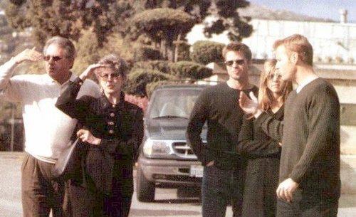 Jen & Brad + Pitt's parents