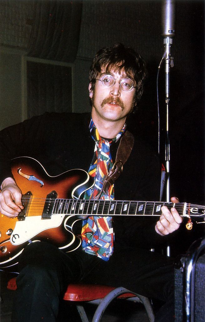 epiphone casino beatles