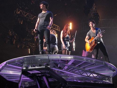 Jonas in Detroit. World Tour 2009.