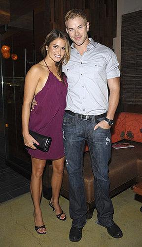 Kellan Lutz and Nikki Reed
