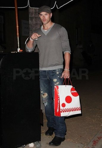 Kellan at fashion event