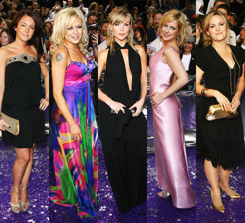 Lacey, Rita, Sam, Gemma and Jo