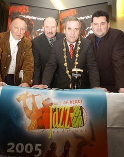 Launch of the City of Derry Jazz and Big Band Festival programme