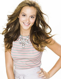 Leighton Meester photoshoot for Seventeen