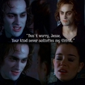 Lestat hates Jesse