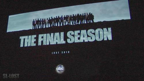 ロスト Season 6 Poster Shown at Comic Con