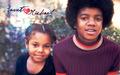 michael-jackson - Michael & Janet <3 wallpaper