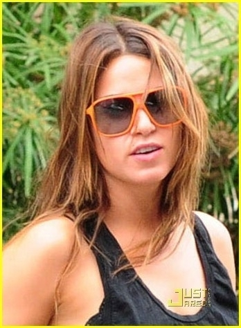 Meeting Ashley Greene at Le Montrose Suite Hotel in West Hollywood